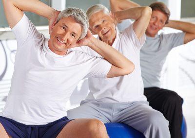 Beckenbodengymnastik für Männer