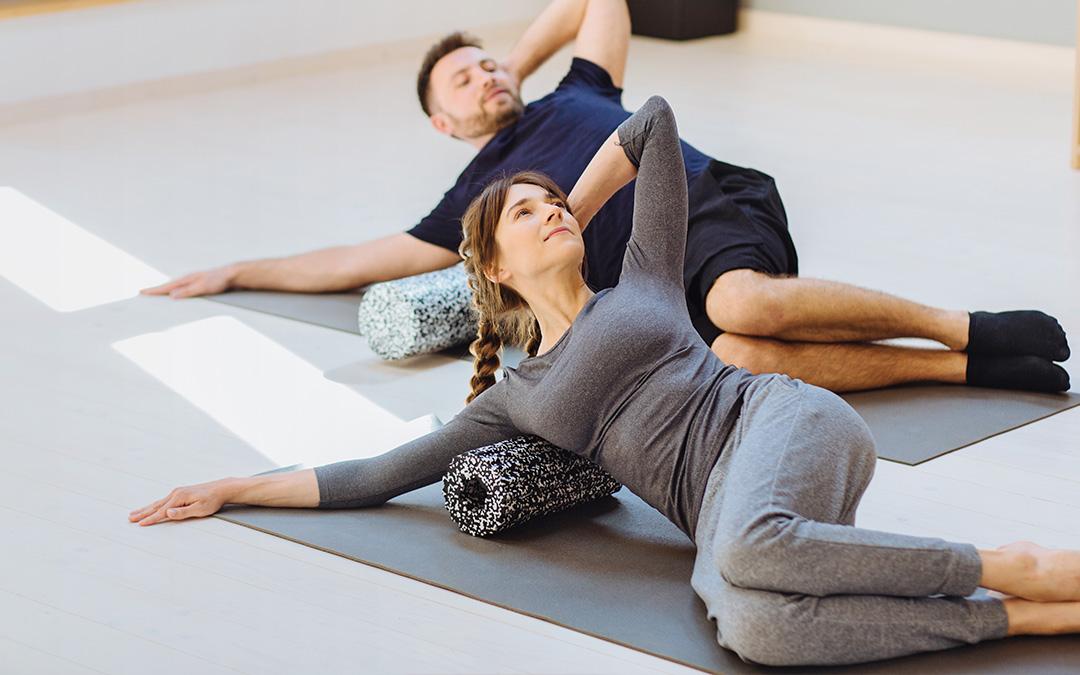 projektbild fasazien fitness - Faszien Yoga