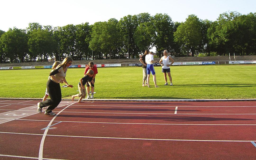 sportabzeichengruppe stadion - Sportabzeichengruppe