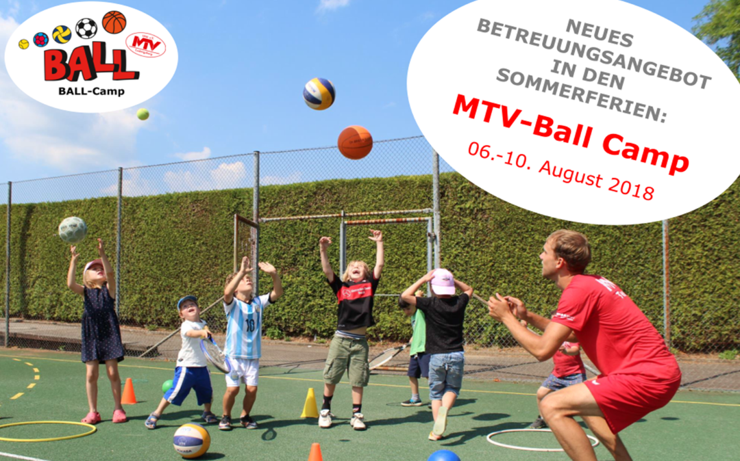 NEU in den Sommerferien: MTV-Ball Camp