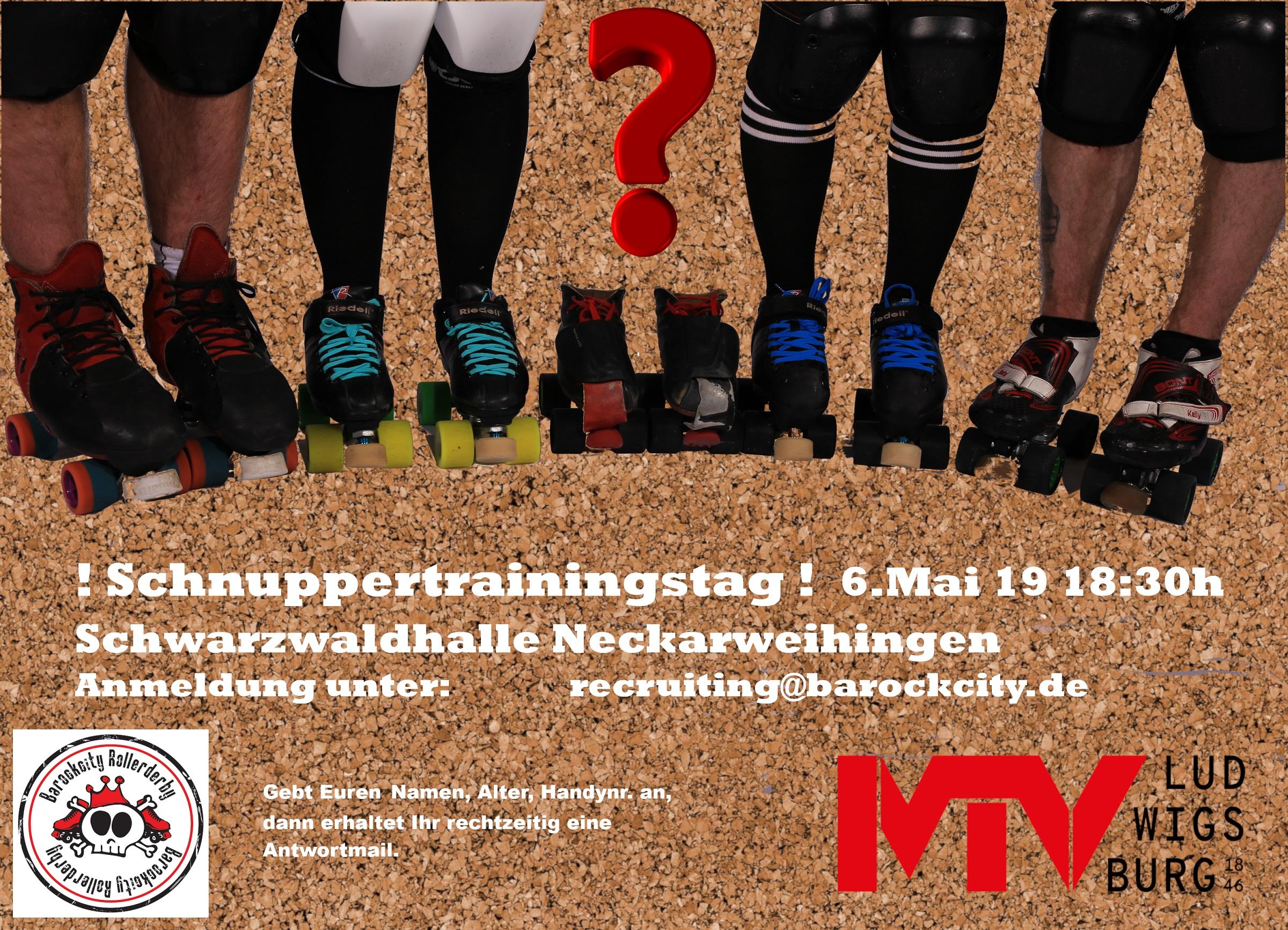 Schnuppertraining Rollerderby - Rollerderby Schnuppertraining