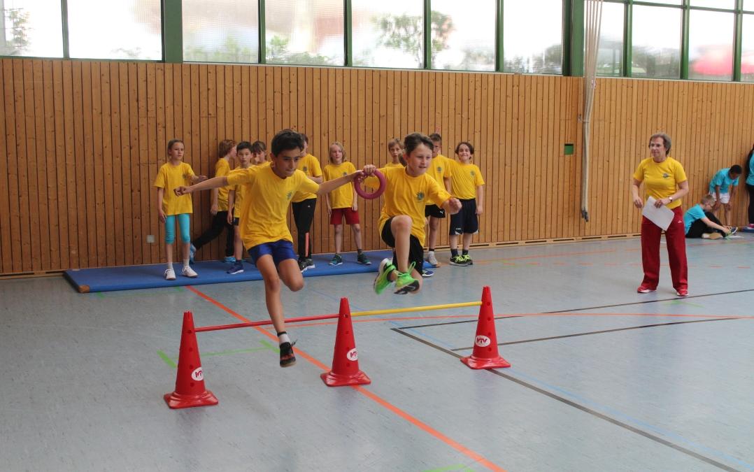SSF 2019 Kinder2 - Ludwigsburgs fitteste Schule braucht Teamgeist!