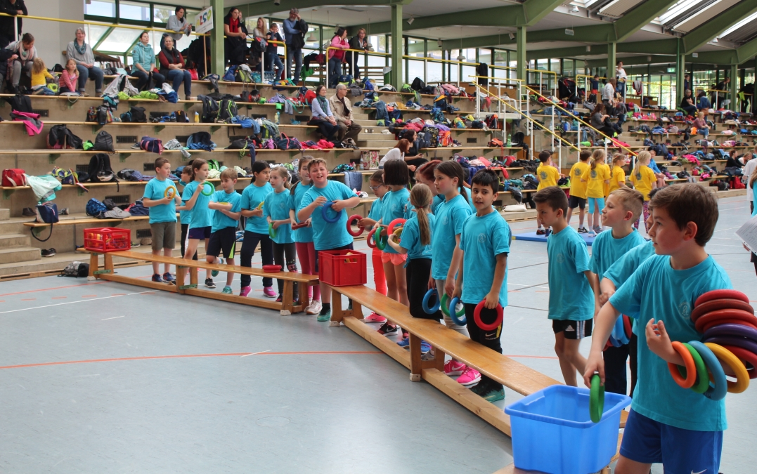 SSF 2019 Kinder3 - Ludwigsburgs fitteste Schule braucht Teamgeist!