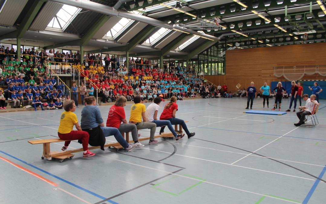 SSF 2019 Lehrerspiel - Ludwigsburgs fitteste Schule braucht Teamgeist!