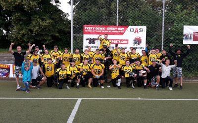 Bulldogs U19 im Bezirksligafinale