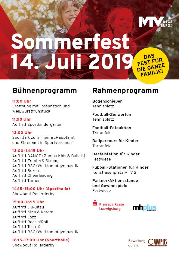ProgrammSoFe2019 - MTV-Sommerfest: Ein Tag für die ganze Familie