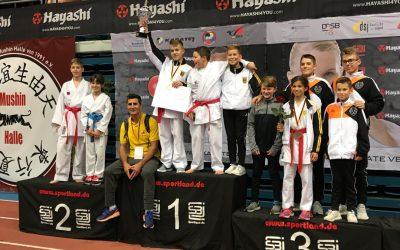 MTV Karate Nachwuchs holt zwei Medaillen bei den Deutschen Meisterschaften