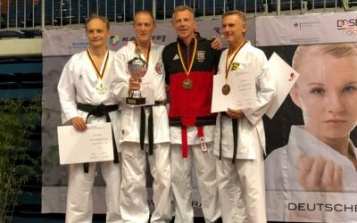 Deutscher Karate Vize-Meister in der Masterklasse