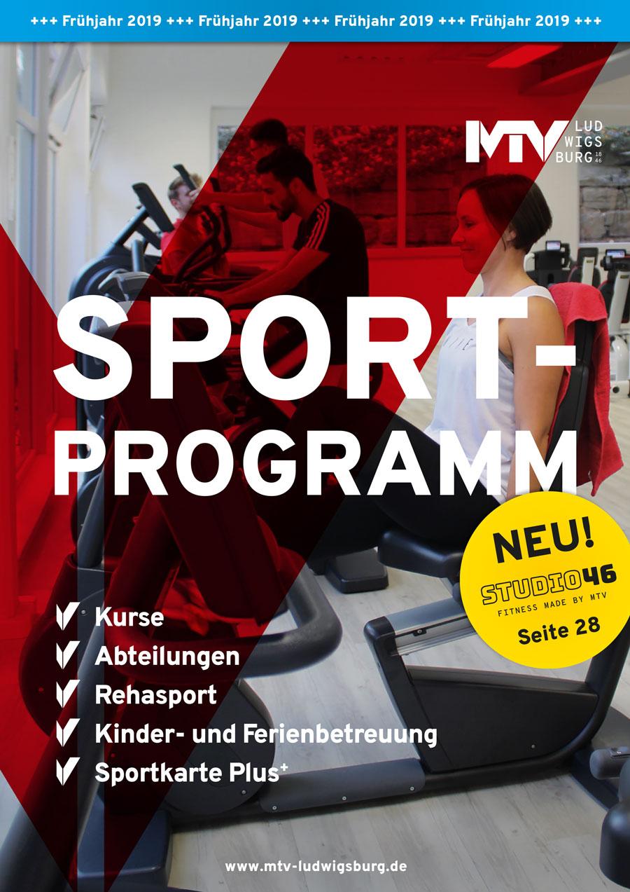 titel sportprogramm 1 2019 - Magazine & Flyer