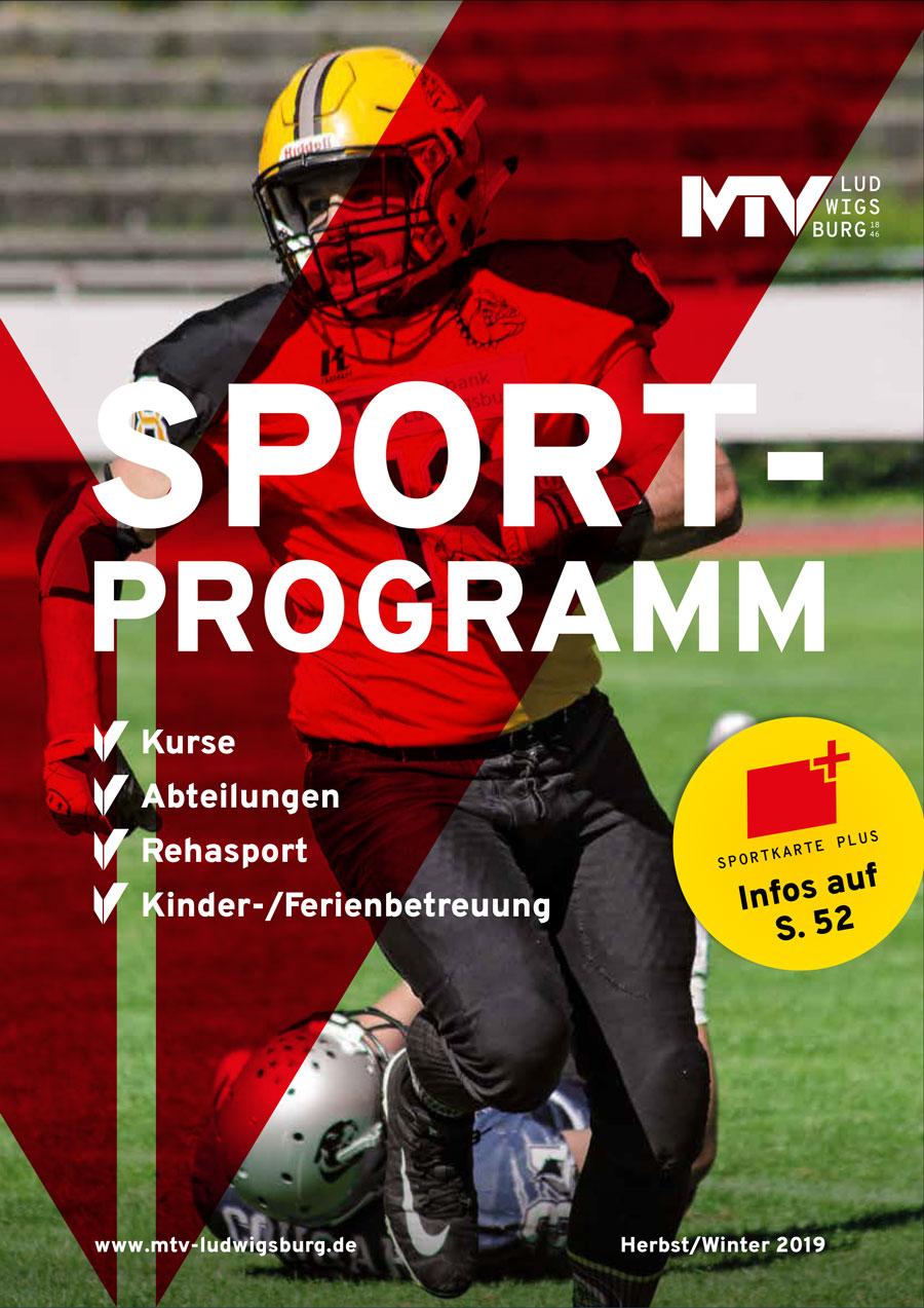 titel sportprogramm 2 2019 - Magazine & Flyer