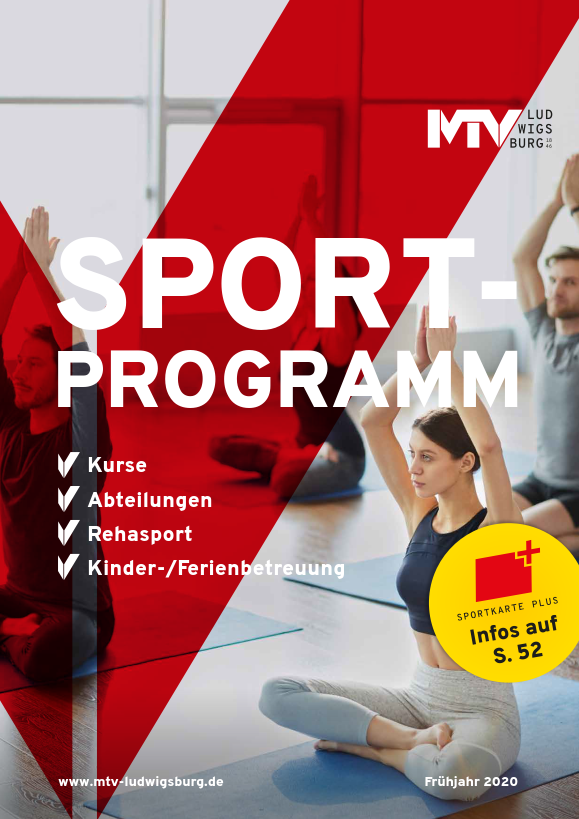 Sportprogramm 2020 01 - Magazine & Flyer