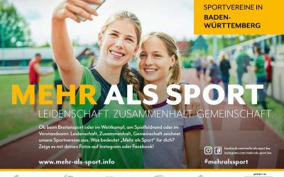 """Mach mit bei der Kampagne """"Mehr als Sport""""!"""