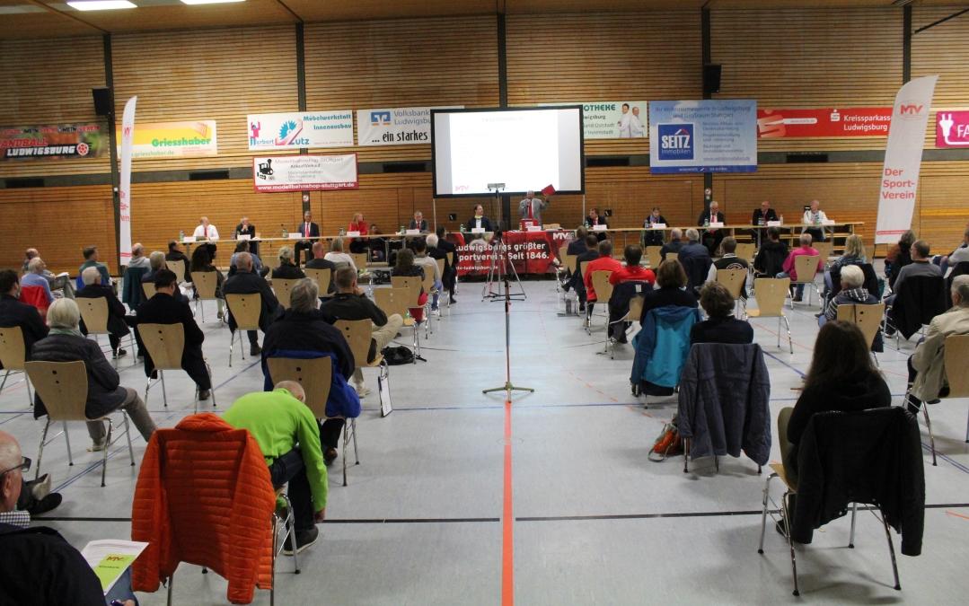 Mitgliederversammlung in einem turbulenten Jahr