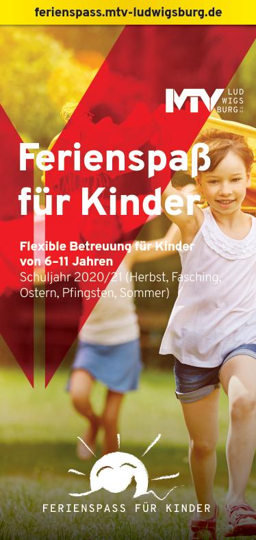 Titel Flyer Ferienspass - Magazine & Flyer