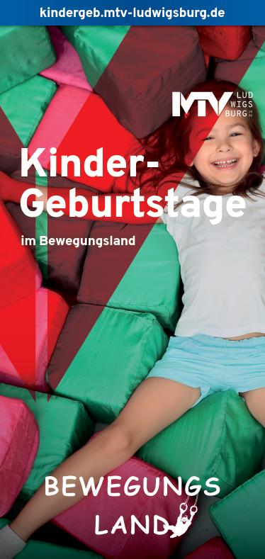 Titel Flyer Kindergeburtstage - Magazine & Flyer