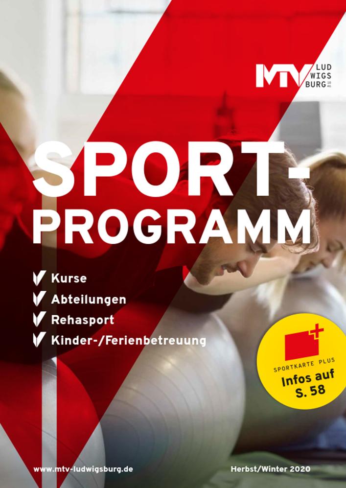 Titel Sportprogramm 2020 2 - Magazine & Flyer