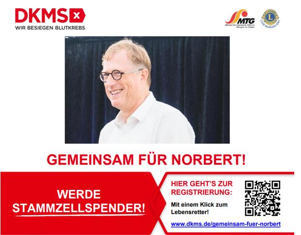Gemeinsam für Norbert