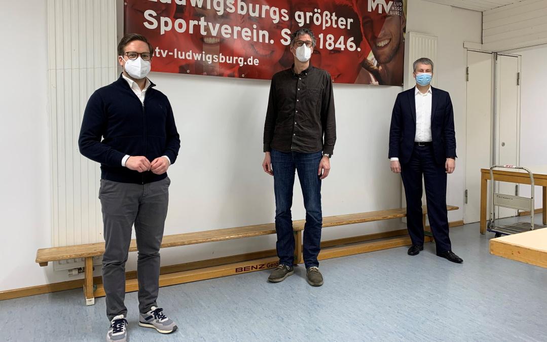CDU-Politiker informieren sich über die Corona Folgen bei Sportvereinen