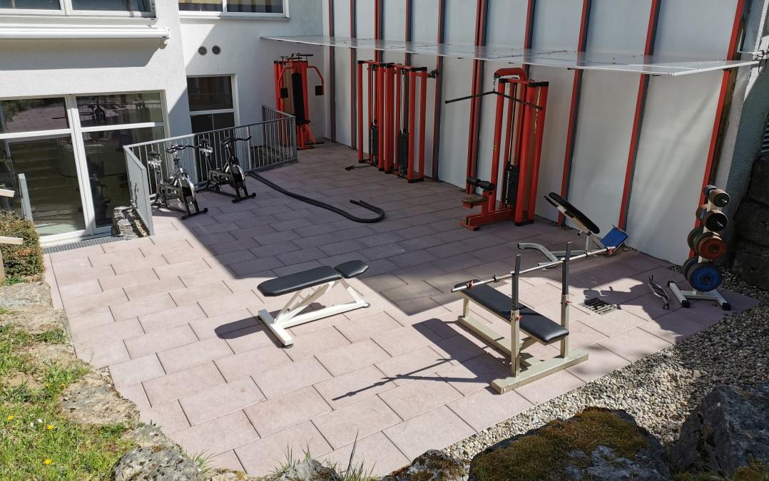 Individuelles Gerätetraining im Outdoorbereich eröffnet!