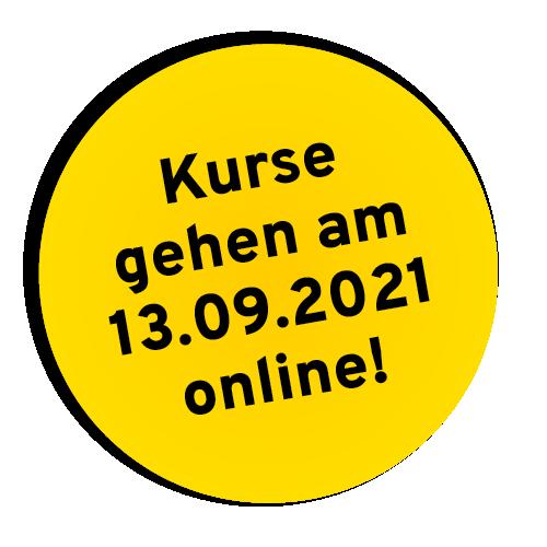 Gelber Button 05 - Kurse
