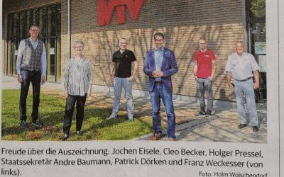 Uebergabe NCharta 400x250 - MTV Ludwigsburg